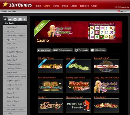 Star Games Casino Gratis
